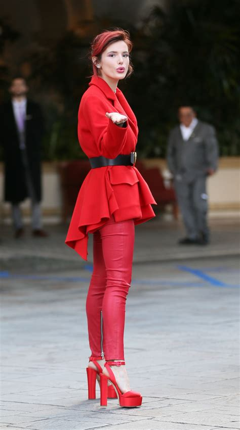 Bella Thorne at the Four Seasons in Beverly Hills 03/14