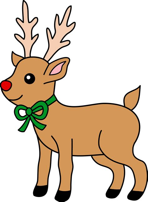 Free Reindeer Cliparts Side, Download Free Clip Art, Free