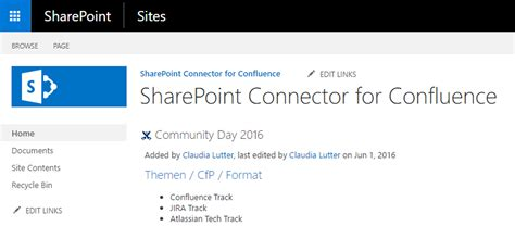 SharePoint Connector for Confluence | Atlassian Marketplace